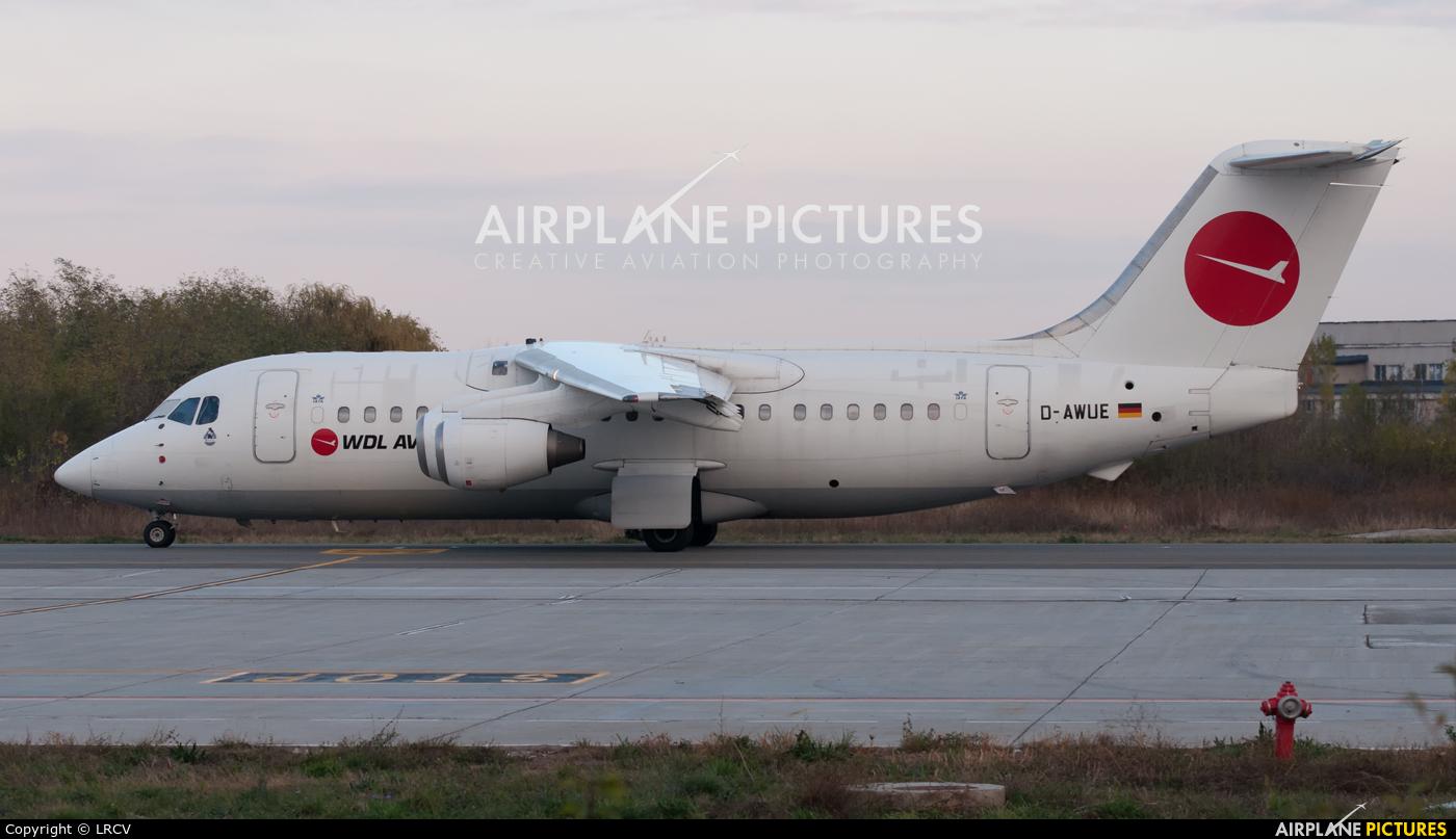 WDL D-AWUE aircraft at Craiova