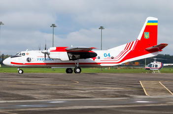 04 - Ukraine - Ministry of Emergency Situations Antonov An-26 (all models)