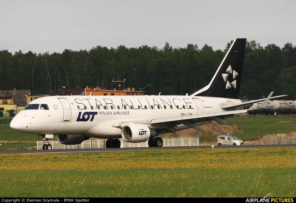 LOT - Polish Airlines SP-LDK aircraft at Gdańsk - Lech Wałęsa