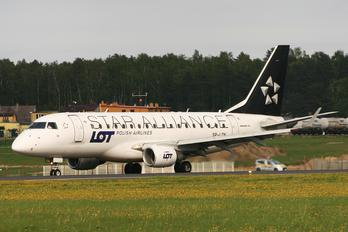 SP-LDK - LOT - Polish Airlines Embraer ERJ-170 (170-100)