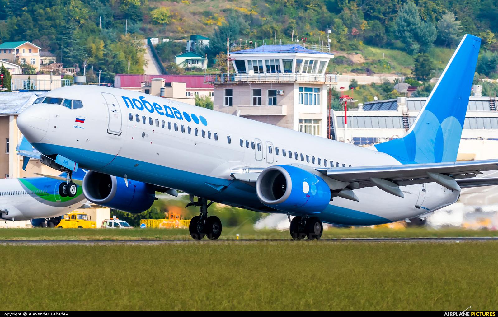 Pobeda VP-BPK aircraft at Sochi Intl