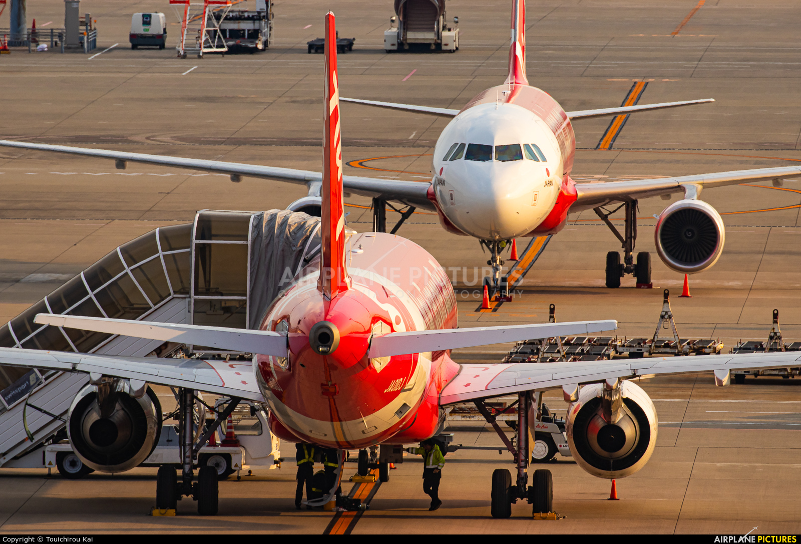 AirAsia (Japan) JA01DJ aircraft at Chubu Centrair Intl