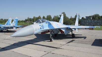 26 - Ukraine - Air Force Sukhoi Su-27