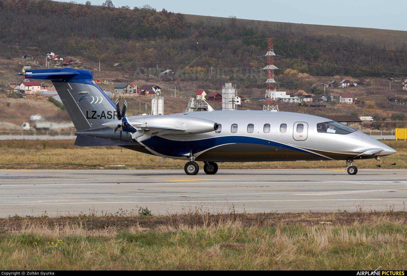 Private LZ-ASR aircraft at Cluj Napoca - Someseni
