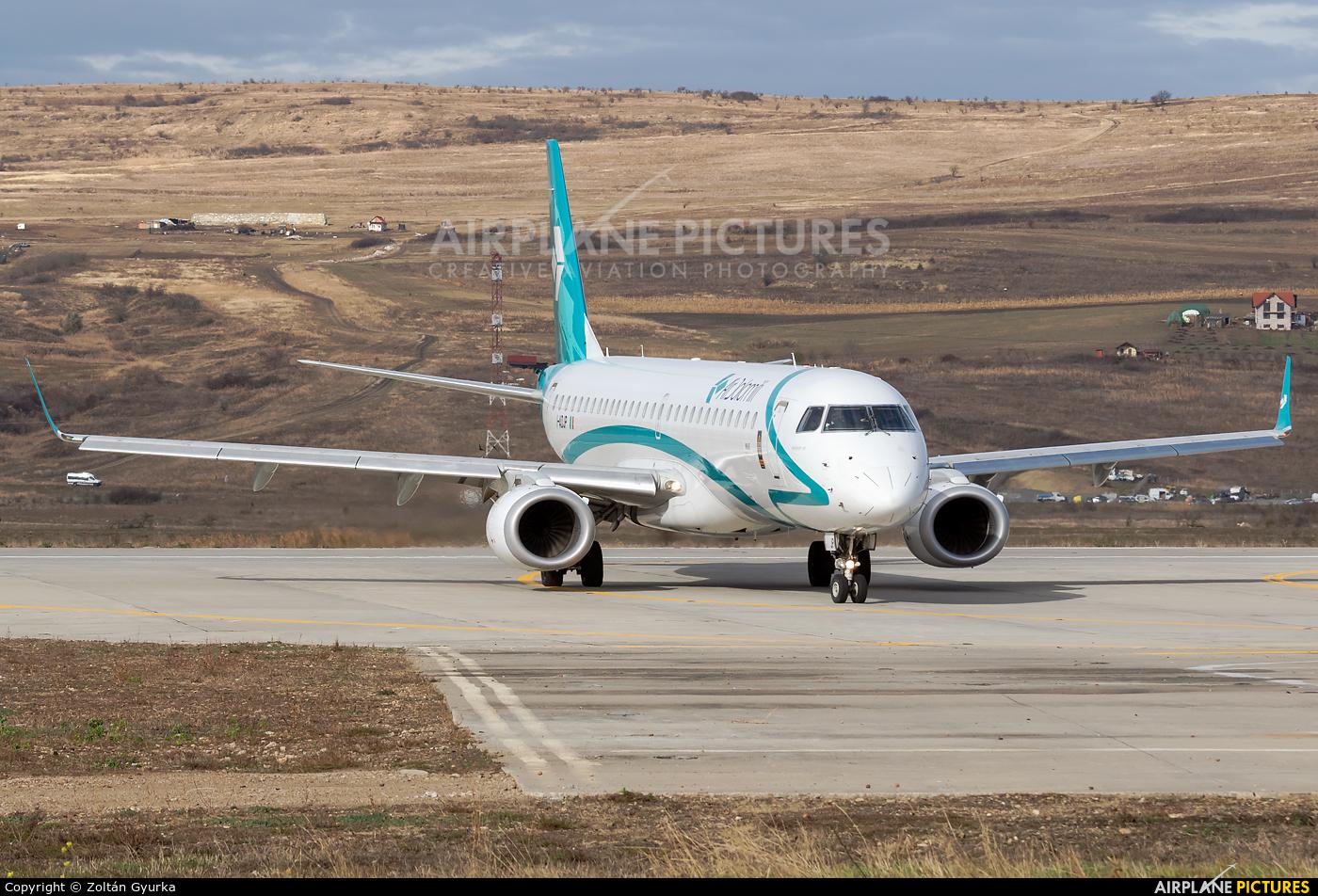 Air Dolomiti I-ADJP aircraft at Cluj Napoca - Someseni