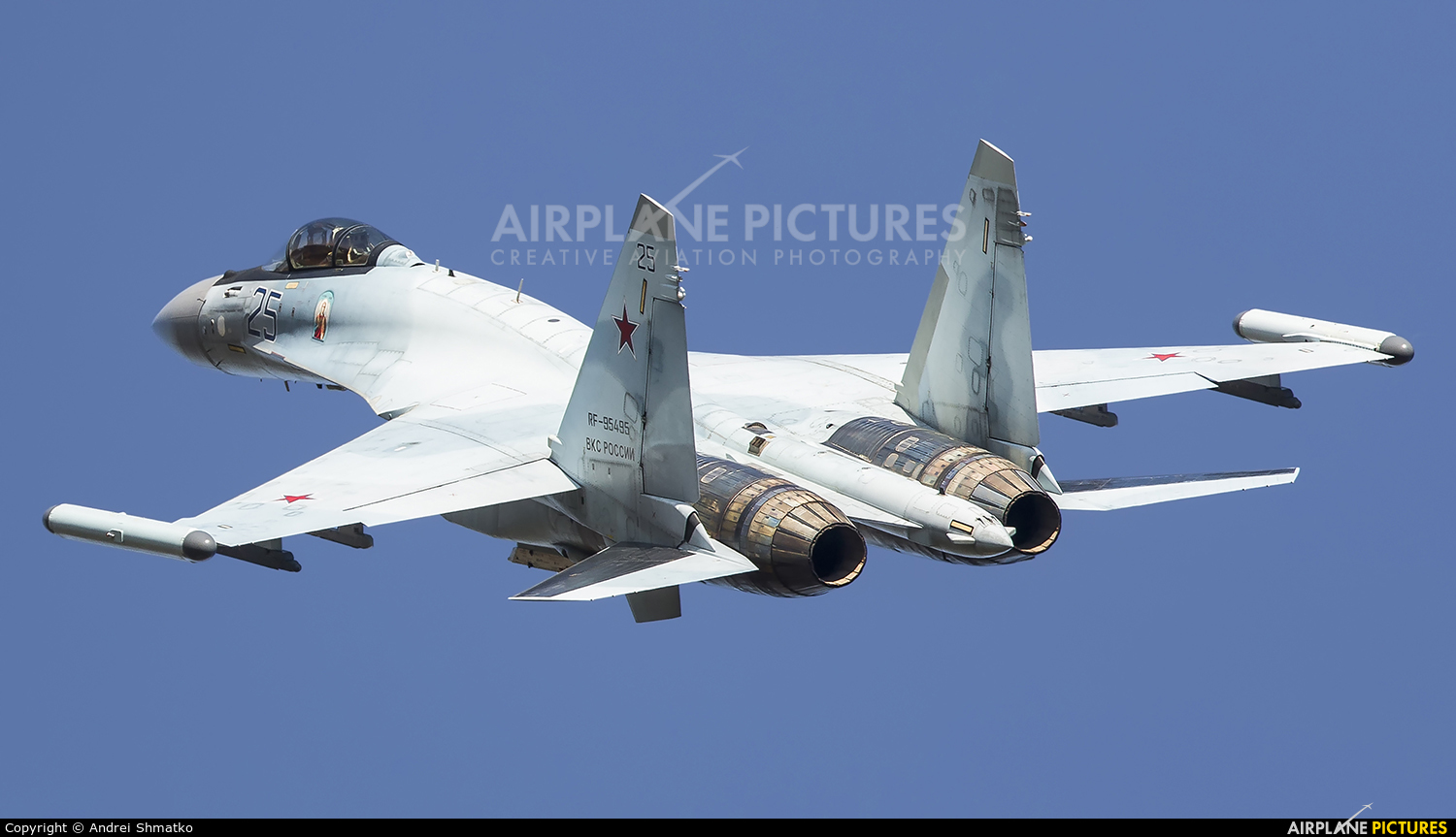 Russia - Air Force RF-95495 aircraft at Undisclosed Location
