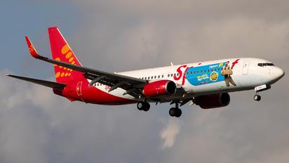 VT-SXA - SpiceJet Boeing 737-800