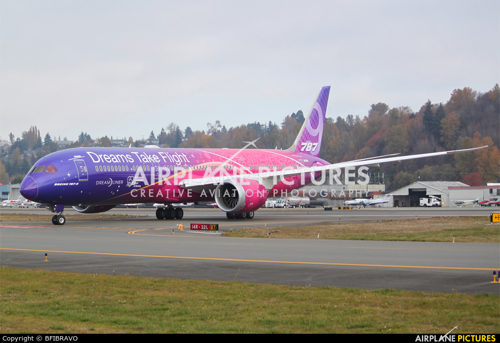 Boeing Company N1015B aircraft at Seattle - Boeing Field / King County Intl