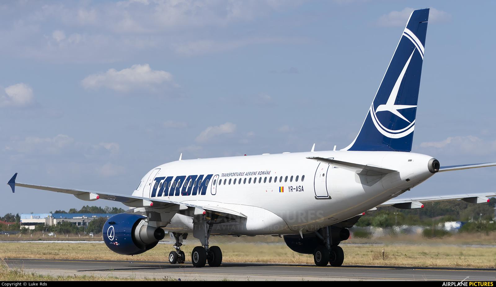 Tarom YR-ASA aircraft at Bucharest - Henri Coandă