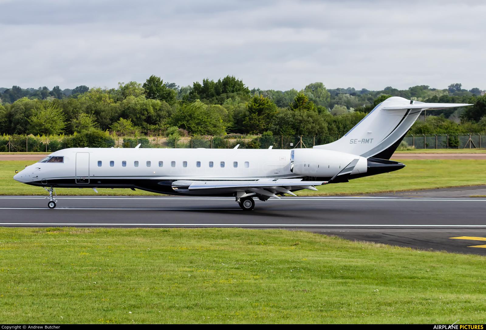 SAAB Aircraft Company SE-RMT aircraft at Fairford
