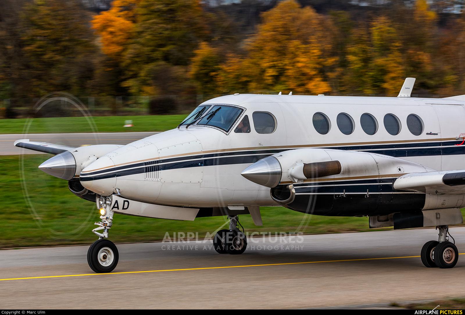 PTL Luftfahrtunternehmen D-IBAD aircraft at Augsburg
