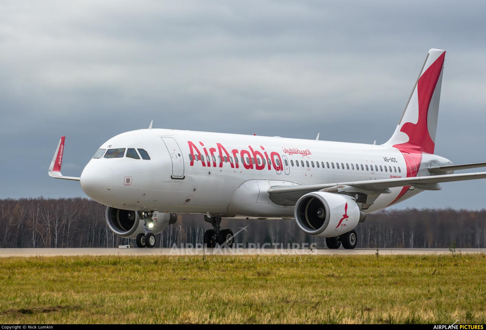 Air Arabia A6-AOC aircraft at Moscow - Domodedovo