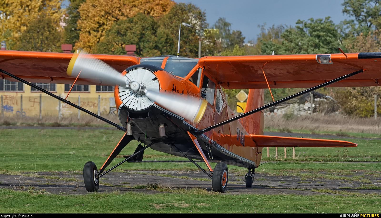 Aeroklub Bydgoski SP-ABD aircraft at Bydgoszcz - Szwederowo