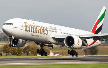 A6-EQP - Emirates Airlines Boeing 777-300ER