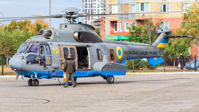 10 YELLOW - Ukraine - National Guard Airbus Helicopters Airbus Helicopters EC225LP Super Puma Mk2+