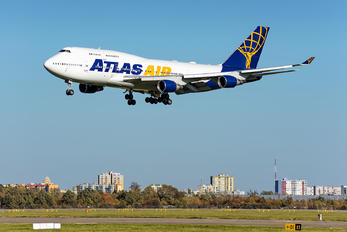 N480MC - Atlas Air Boeing 747-400