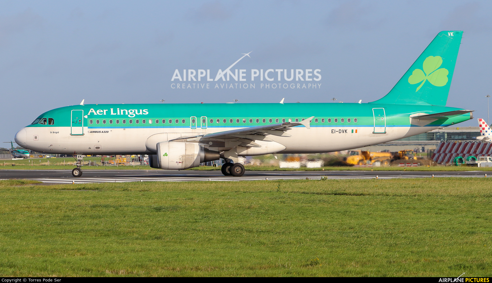 Aer Lingus EI-DVK aircraft at Dublin