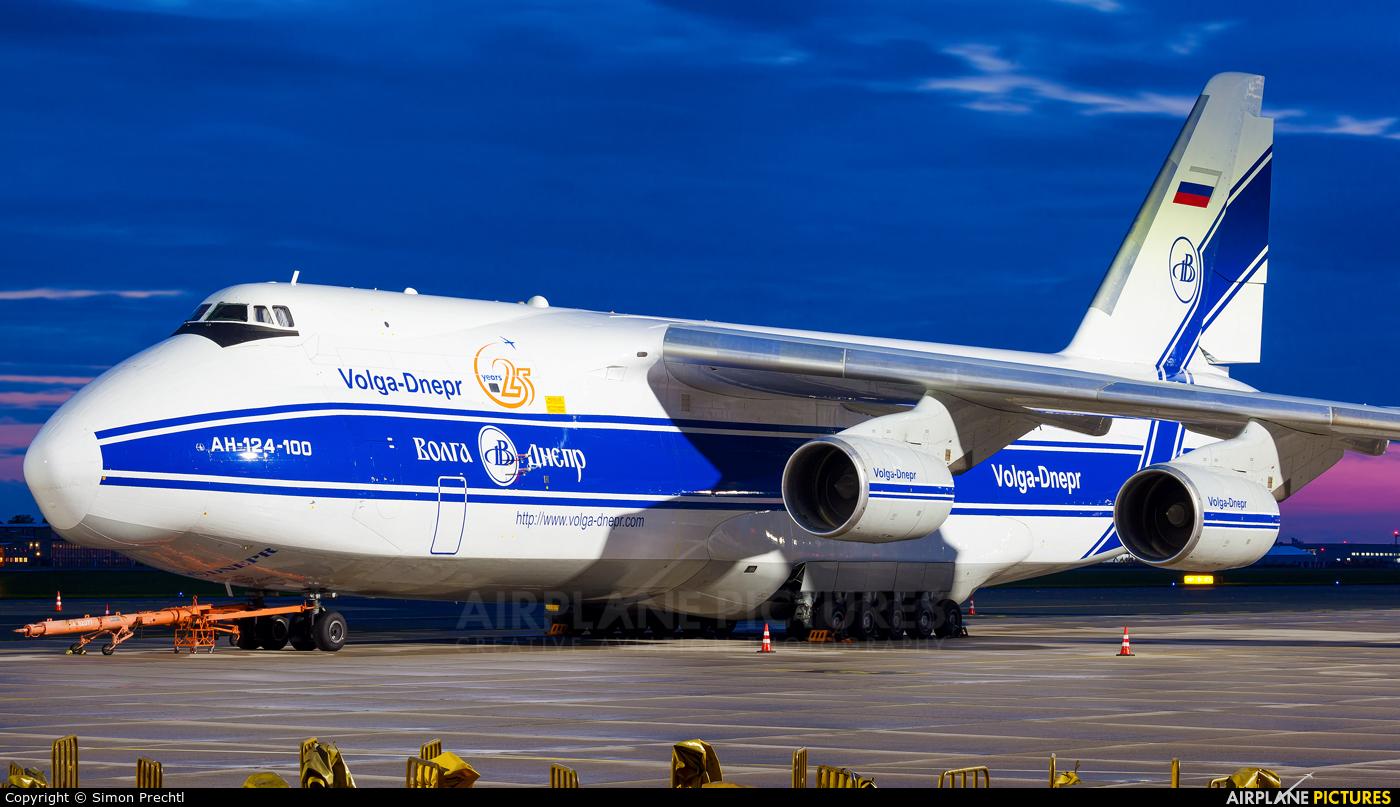 Volga-Dnepr RA-82077 aircraft at Linz
