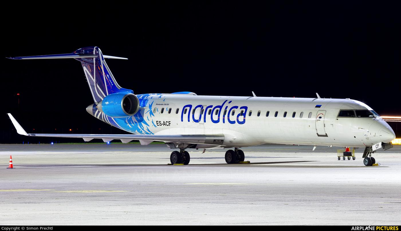 Nordica ES-ACF aircraft at Linz