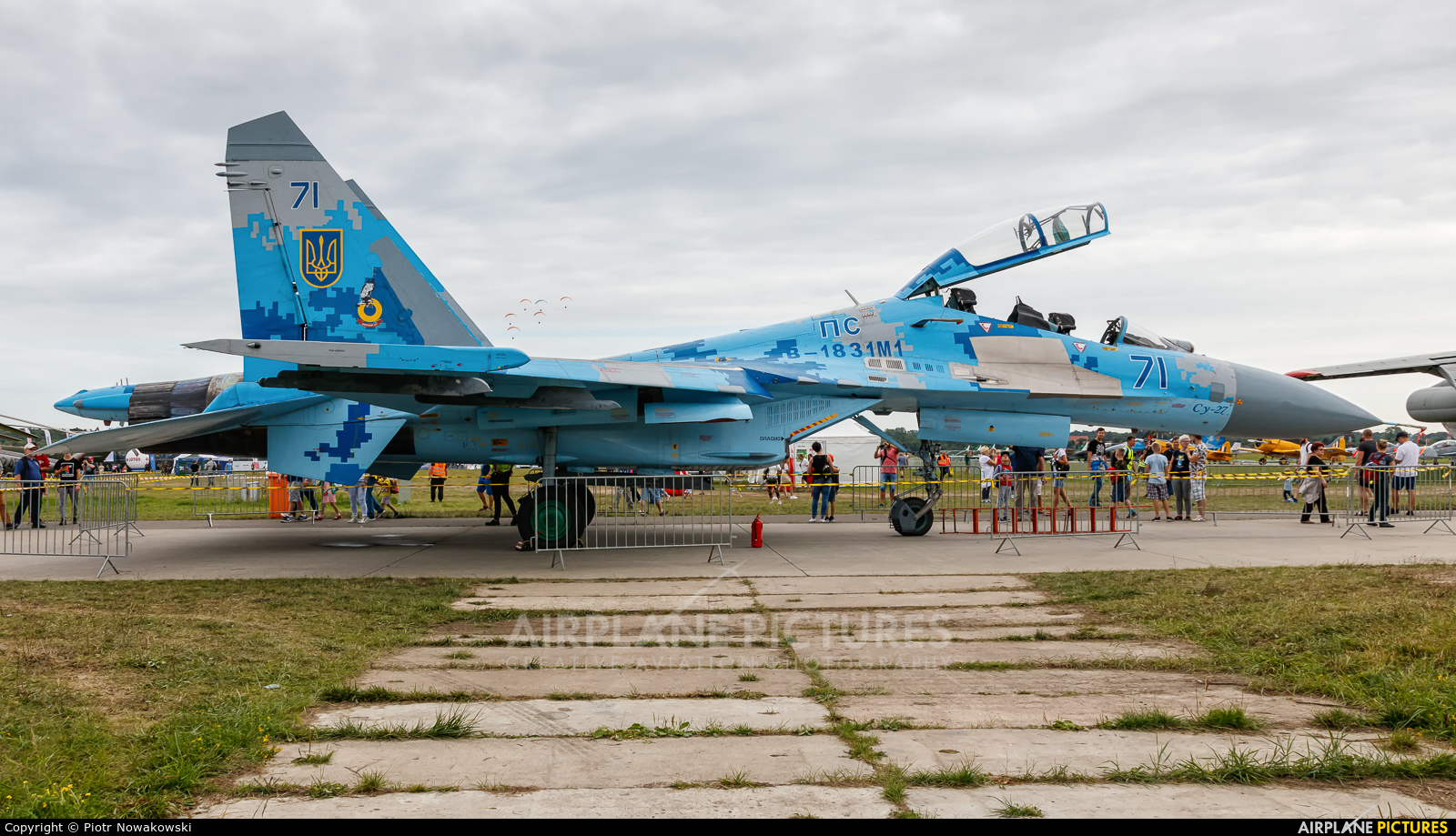 Ukraine - Air Force 71 aircraft at Gdynia- Babie Doły (Oksywie)