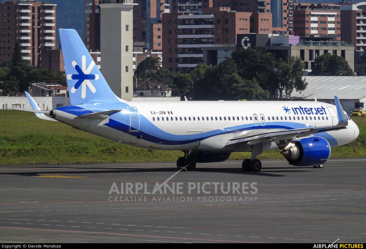 Interjet XA-JRM aircraft at Guatemala - La Aurora