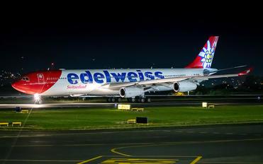 HB-JME - Edelweiss Airbus A340-300
