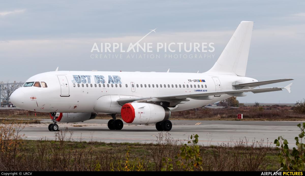 Just US Air YR-URS aircraft at Craiova