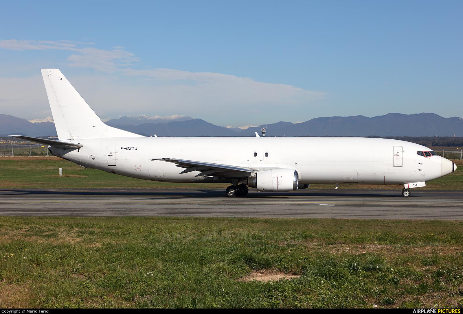 ASL Airlines F-GZTJ aircraft at Milan - Malpensa