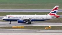 G-EUUE - British Airways Airbus A320 aircraft