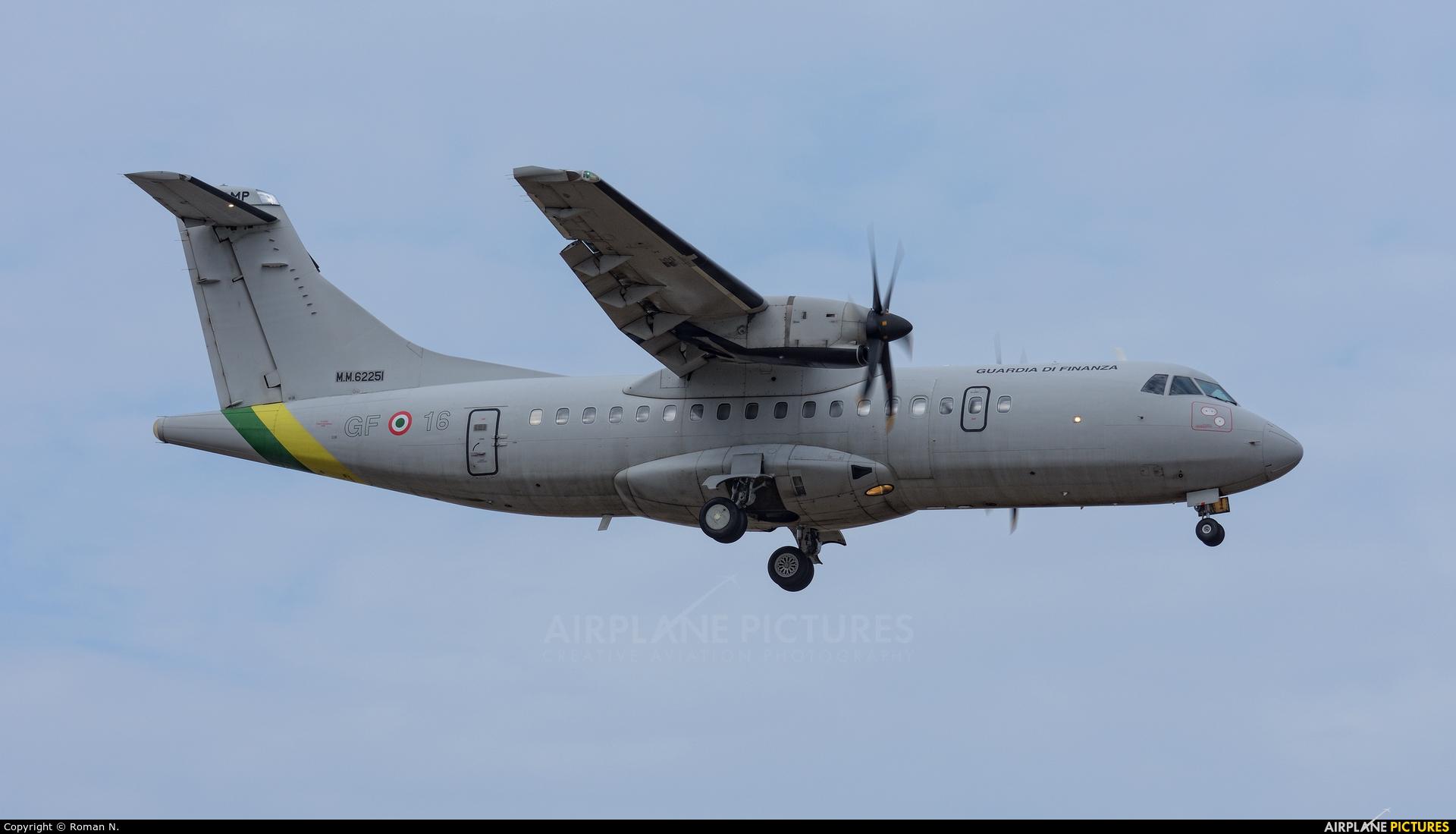 Italy - Guardia di Finanza MM62251 aircraft at Trapani - Birgi