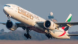 Emirates Airlines Boeing 777-300ER A6-ENW at Budapest Ferenc Liszt International Airport airport