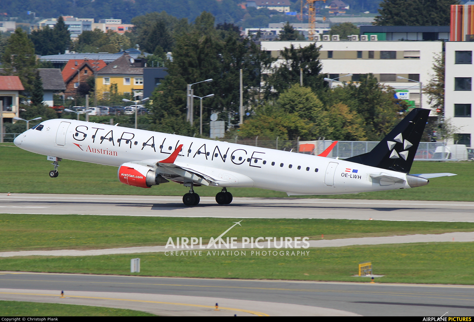 Austrian Airlines/Arrows/Tyrolean OE-LWH aircraft at Salzburg