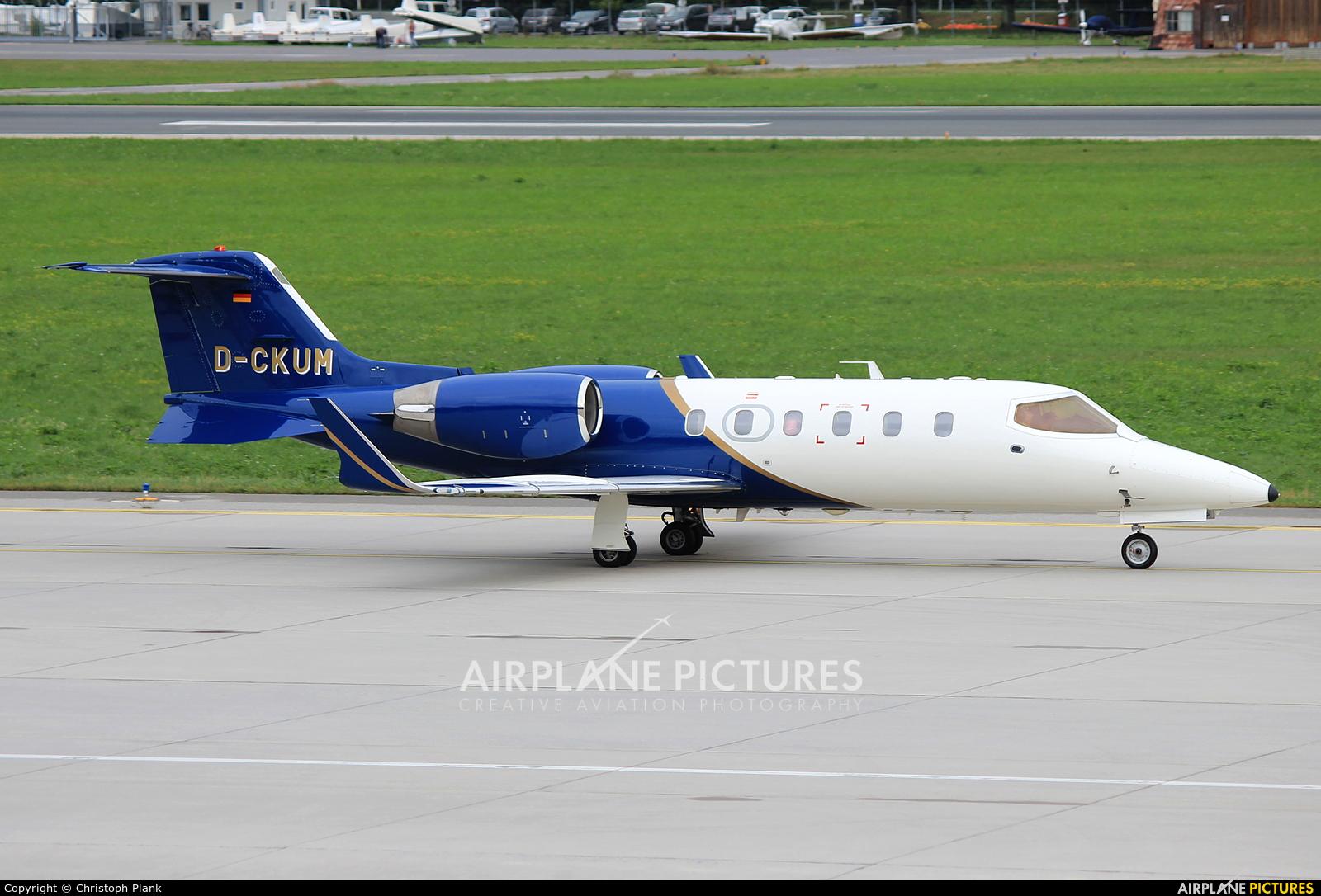 Private D-CKUM aircraft at Innsbruck