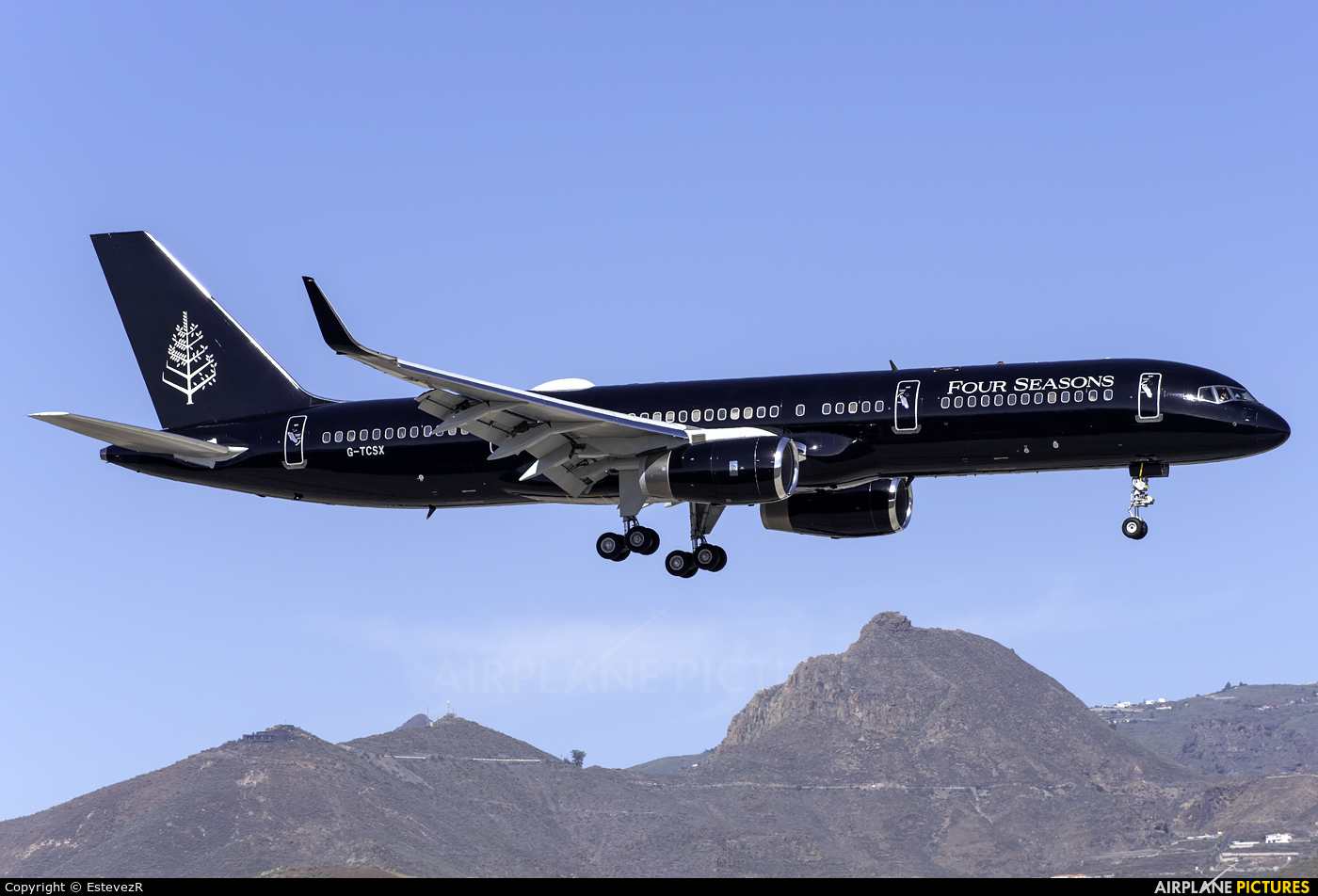 TAG Aviation G-TCSX aircraft at Tenerife Sur - Reina Sofia