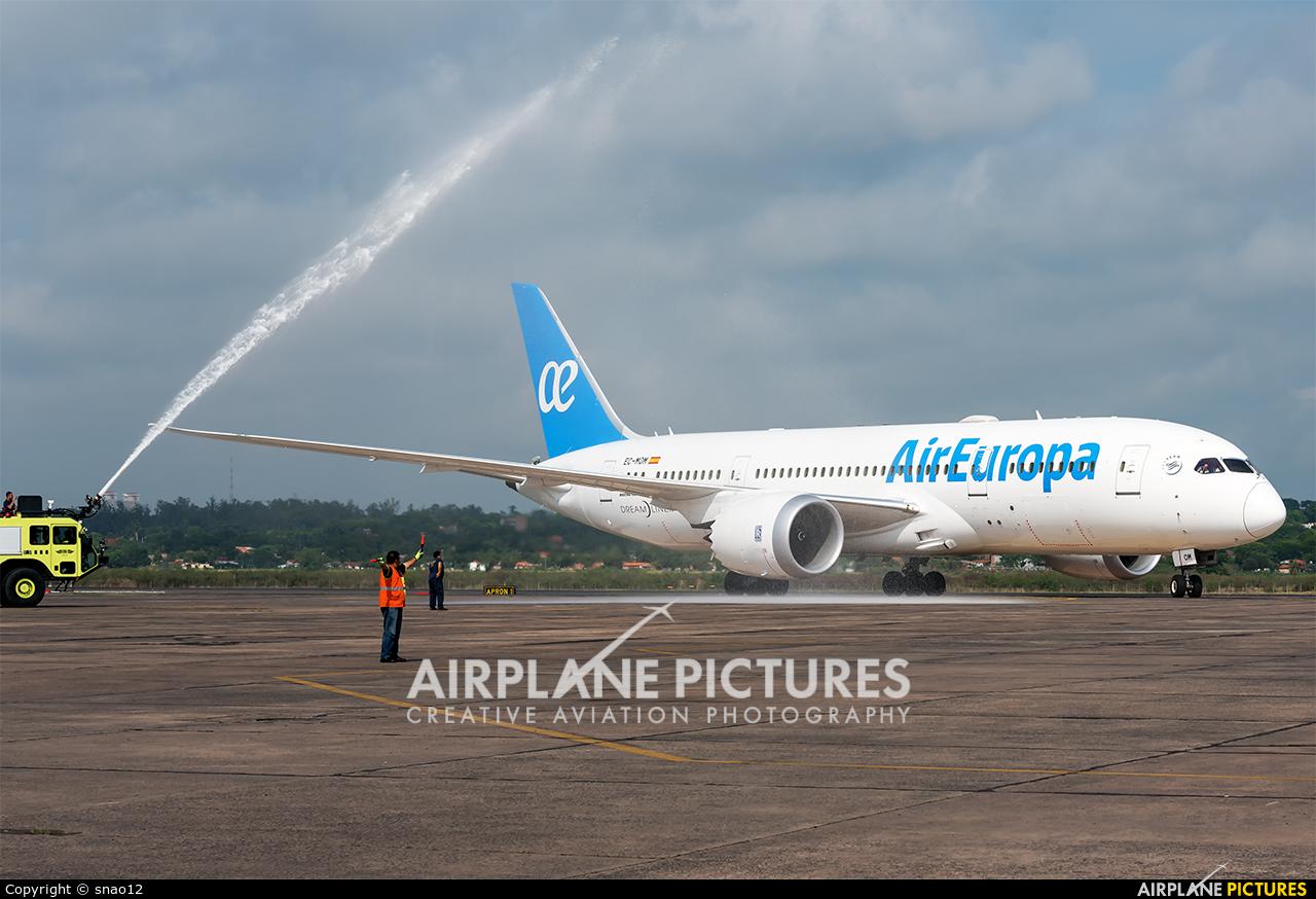 Air Europa EC-MOM aircraft at Asuncion - Silvio Pettirossi Intl