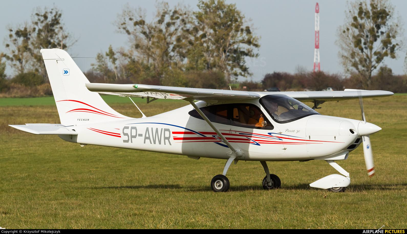 Aeroklub Wroclawski SP-AWR aircraft at Wrocław - Szymanów