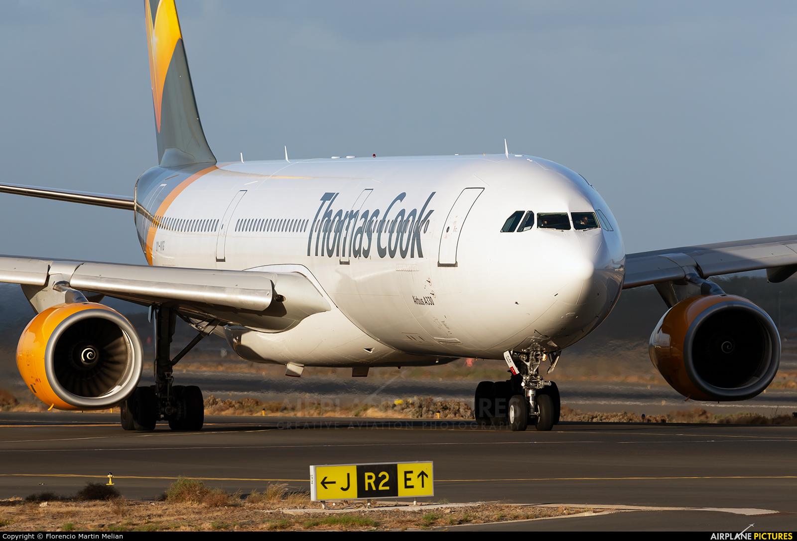 Thomas Cook Scandinavia OY-VKG aircraft at Aeropuerto de Gran Canaria