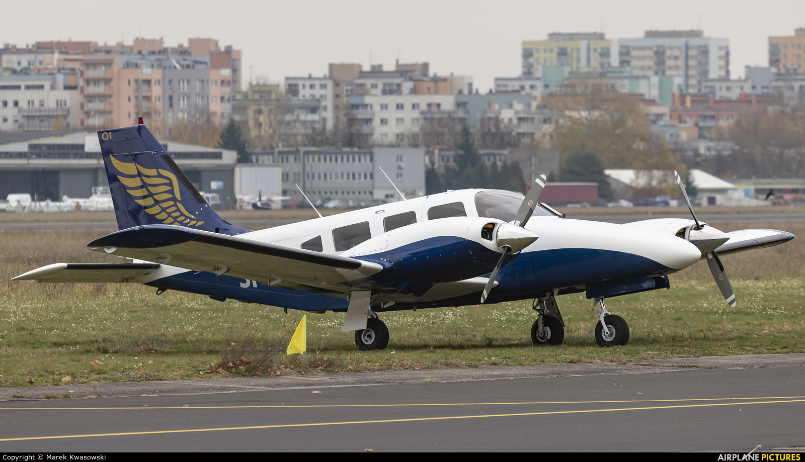 Goldwings Flight Academy SP-CSL aircraft at Warsaw - Babice