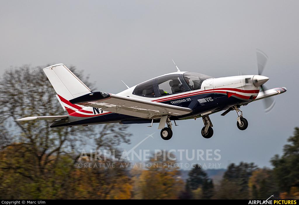 Private N705TB aircraft at Augsburg