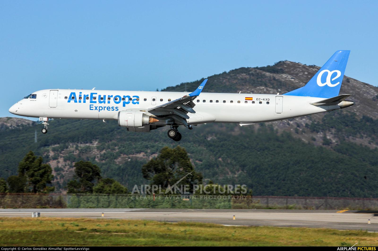 Air Europa Express EC-KXD aircraft at Vigo