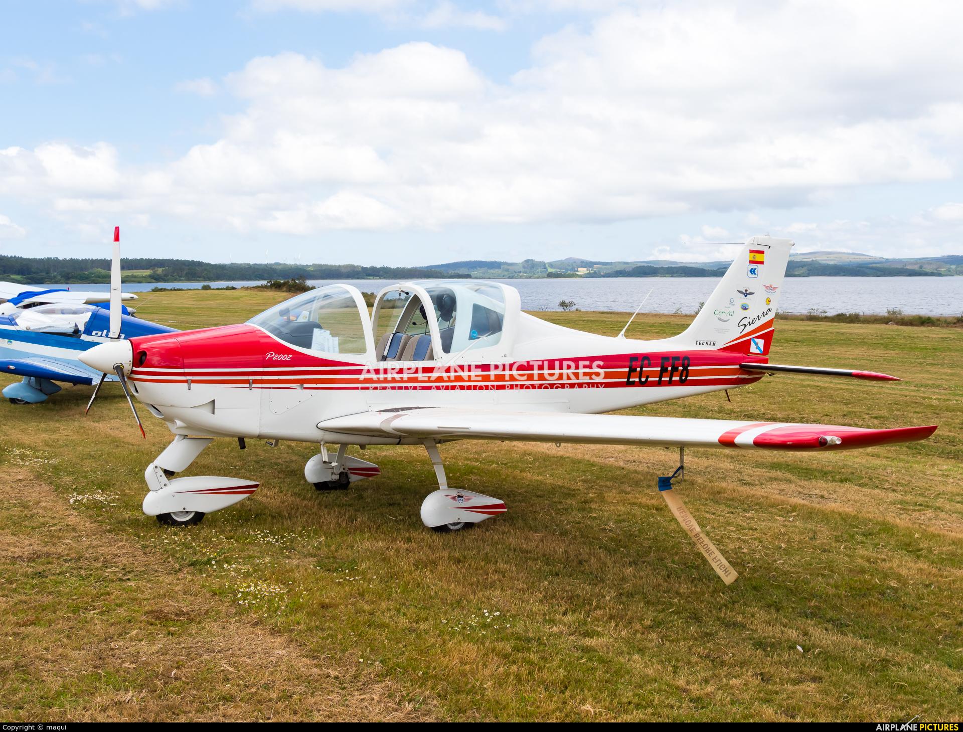 Private EC-FF8 aircraft at Aerodromo De Mazaricos