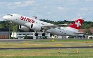 HB-JBI - Swiss Bombardier CS100 aircraft