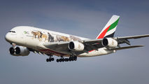 A6-EEQ - Emirates Airlines Airbus A380 aircraft