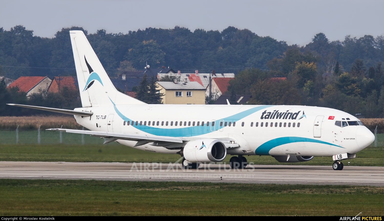 Tailwind Airlines TC-TLB aircraft at Ostrava Mošnov