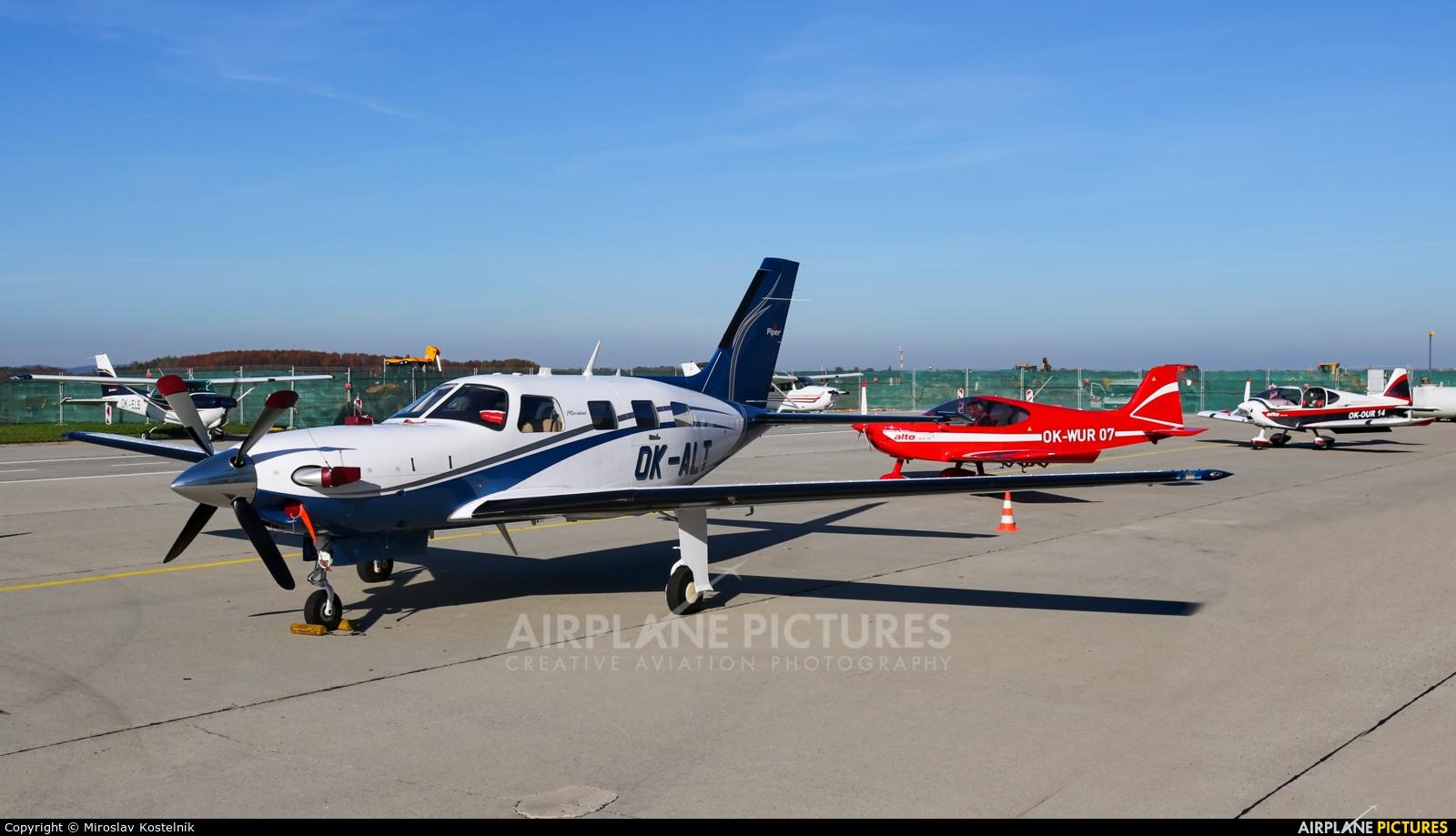 Private OK-ALT aircraft at Ostrava Mošnov