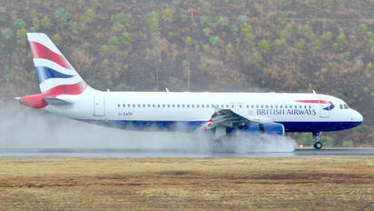 G-GATP - British Airways Airbus A320