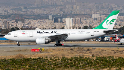 EP-MNI - Mahan Air Airbus A300