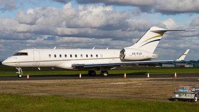 A6-RJD - Private Bombardier BD-700 Global 5000