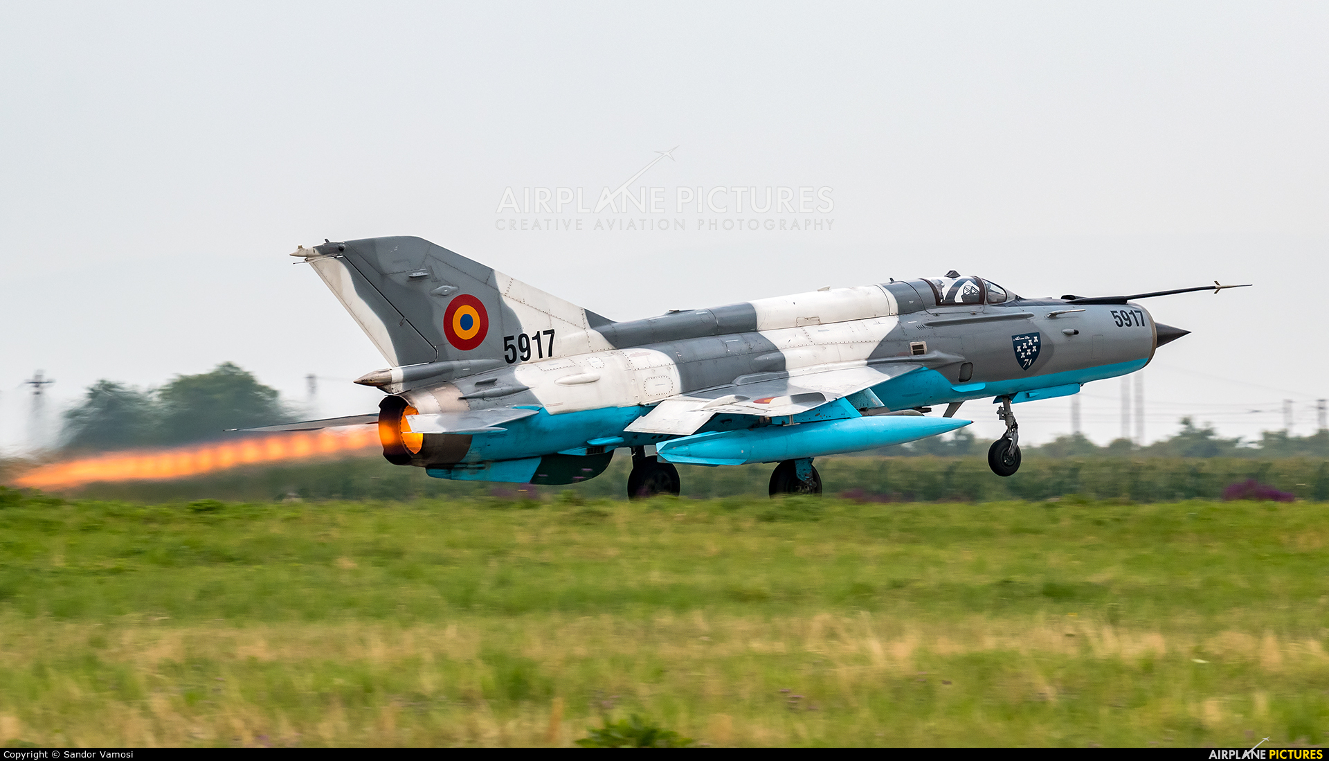 Romania - Air Force 5917 aircraft at Câmpia Turzii