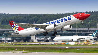 HB-JHR - Edelweiss Airbus A330-300